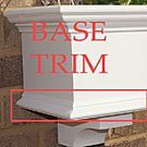 base trim option for traditional window box (bottom trim)